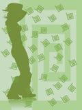 De dans van de meander vector illustratie