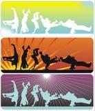 De Dans van de onderbreking vector illustratie