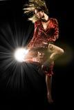 De dans van de studio Royalty-vrije Stock Foto's