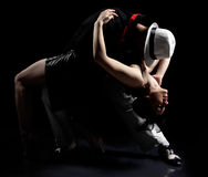 De dans van de tango Stock Afbeeldingen
