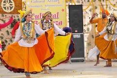 De dans van Haryanvi Royalty-vrije Stock Foto
