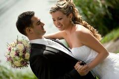 De dans van het huwelijk Royalty-vrije Stock Foto
