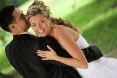 De dans van het huwelijk Royalty-vrije Stock Afbeeldingen
