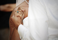 De Dans van het huwelijk stock fotografie