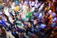 De dans van het onduidelijke beeld Stock Afbeelding