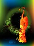 De dans van het oosten Royalty-vrije Stock Afbeelding