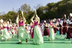 De dans van Korea Stock Foto's