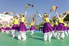 De dans van Korea Royalty-vrije Stock Foto's