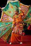 De Dans van Peakock in Myanmar Royalty-vrije Stock Foto