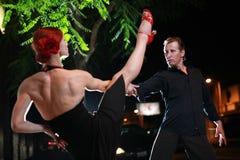 De dans van Salsa Stock Afbeeldingen