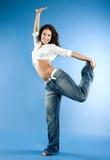 De dans van sporten Stock Foto's