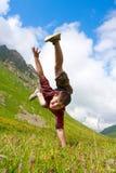 De dansen van de jongen Royalty-vrije Stock Fotografie