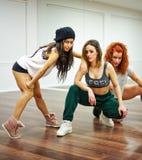 De Dansende Meisjes van Hip Hop Royalty-vrije Stock Foto's