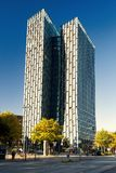De Dansende Torens in Hamburg Royalty-vrije Stock Fotografie