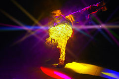 De danser royalty-vrije stock afbeelding