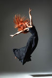 De danser Royalty-vrije Stock Foto's