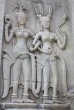 De danser van Apsara Stock Afbeeldingen