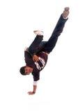 De danser van Breakdance Stock Afbeeldingen