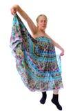 De Danser van Curtsey Royalty-vrije Stock Foto's