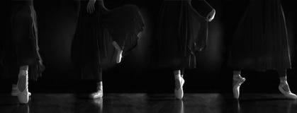 De danser van de ballerina Stock Foto's