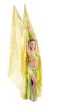 De danser van de buik Royalty-vrije Stock Afbeeldingen