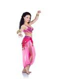 De danser van de buik Stock Foto's