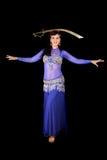 De danser van de buik Stock Foto