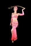 De danser van de buik Stock Fotografie
