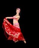 De danser van de buik Royalty-vrije Stock Afbeelding