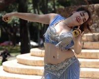 De danser van de buik Royalty-vrije Stock Fotografie