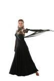De danser van de elegantie royalty-vrije stock afbeeldingen