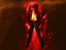De Danser van de kraai Stock Foto