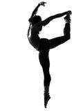 De danser van de mens het dansen Stock Foto