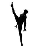 De danser van de mens het dansen Royalty-vrije Stock Fotografie