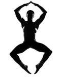 De danser van de mens het dansen Royalty-vrije Stock Afbeeldingen