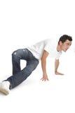 De Danser van de onderbreking stock foto's