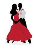 De danser van de tango Royalty-vrije Stock Afbeelding