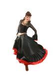De danser van de zigeuner Stock Afbeelding