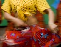 De danser van de zigeuner Stock Afbeeldingen