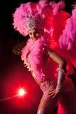 De danser van het cabaret Stock Foto's