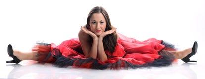 De danser van het flamenco royalty-vrije stock afbeeldingen