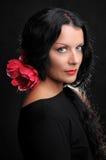 De danser van het flamenco Stock Foto
