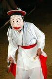 De danser van het masker Stock Foto