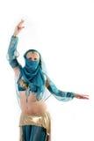 De danser van het oosten Stock Afbeeldingen