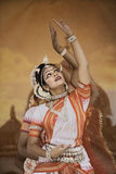 De danser van India stock fotografie