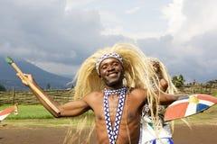 De danser van Intore Royalty-vrije Stock Afbeeldingen