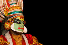 De danser van Kathakali royalty-vrije stock fotografie