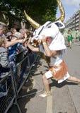 De Danser van Minotaur van de School van Londen van Samba Royalty-vrije Stock Foto