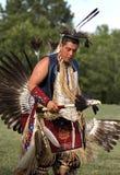 De Danser van PowWow Royalty-vrije Stock Afbeeldingen