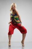 De danser van Reggae Stock Foto's